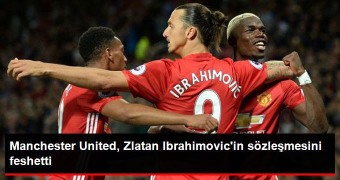 Manchester United, Zlatan Ibrahimovic in sözleşmesini feshetti