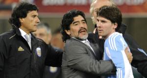 Maradonadan Messiye destek!