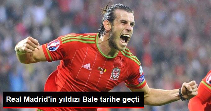 Real Madrid in yıldızı Bale tarihe geçti