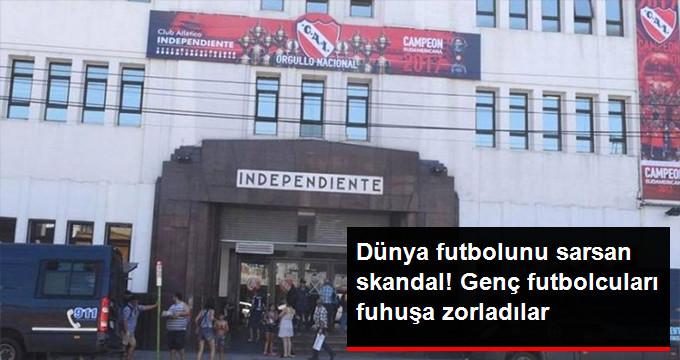 Dünya futbolunu sarsan skandal! Genç futbolcuları fuhuşa zorladılar