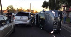 Sürücüsüz UBERin kaza görüntüleri ortaya çıktı