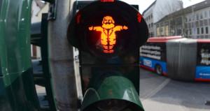 Doğduğu kentte trafik ışıkları Karl Marx figürüyle yanacak