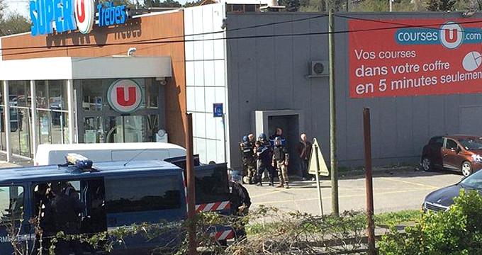 DEAŞ'lı terörist Fransa'da marketi bastı: 2 ölü, 12 yaralı
