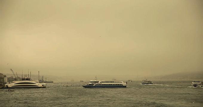 Korku filmi gibi görüntü: Toz etkisi pazar gününe kadar sürecek!