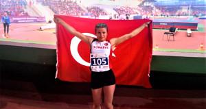 Milli sporcu Aysun Akay Avrupa Şampiyonu oldu