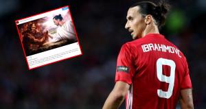 Zlatan Ibrahimovicten olay ayrılık paylaşımı!