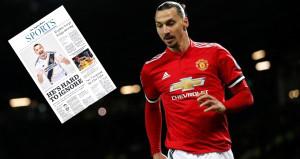 Zlatan Ibrahimovic, transferini gazete ilanıyla duyurdu