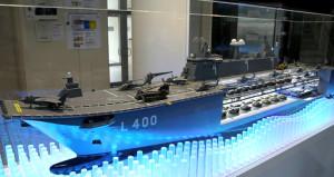 Yerli ve milli savaş uçağı gemimiz ilk kez görüntülendi