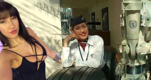 İnternette ünlenen hostes işi bırakıp cinsel içerikli film starı oldu