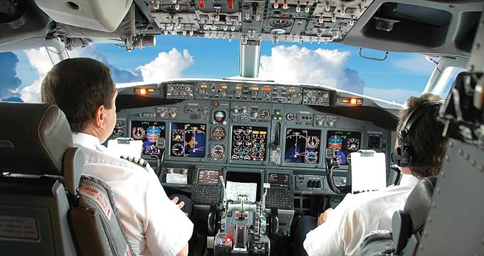 Kuş sürüsü ile karşılaşan pilotun kritik hamlesi hayat kurtardı