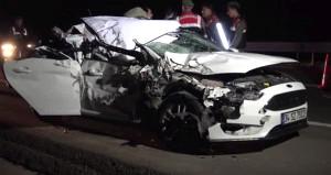 Otostopla bindiği otomobil genç kadının sonu oldu