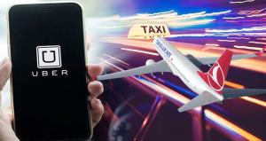 THY taksicileri kızdıracak! Uçak bileti alana UBER bedava
