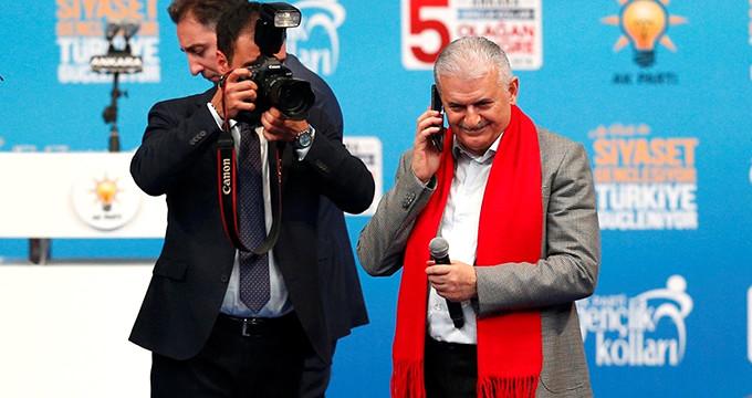 Yıldırım telefonla aradığı Erdoğan'dan cevap alamadı!