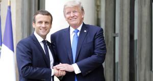 Macron'dan Trump'a: Suriye'deki askerlerini çekme yeni bir savaş çıkar