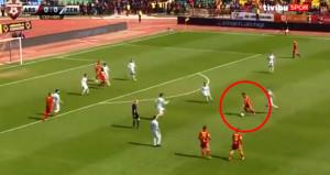 Mancininin gönderdiği futbolcu, intikamını fena aldı