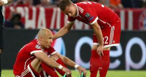 Bayern Münihte Robben şoku!