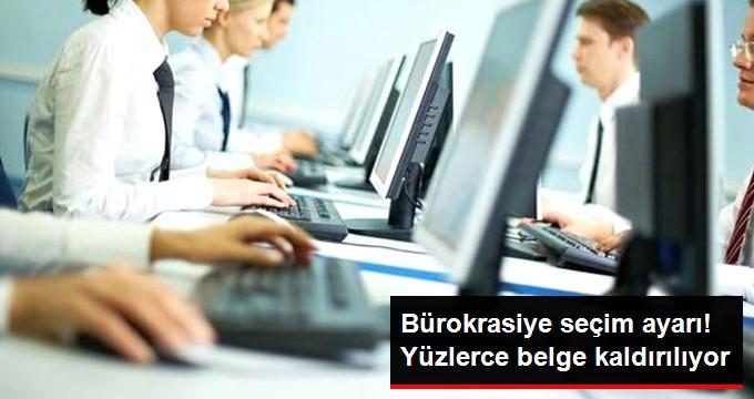 Bürokrasiye 24 Haziran Ayarı! Gereksiz 662 Belge Tarihe Karışıyor