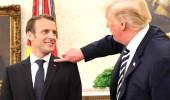 Macron'un kepek sorununa Trump müdahalesi
