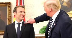 Macronun kepek sorununa Trump müdahalesi