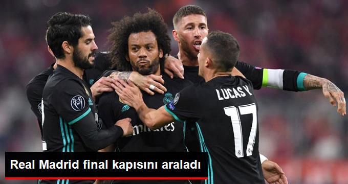 Real Madrid final kapısını araladı