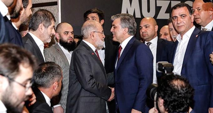 Saadet Partisi, Gül'ün adaylığını oyluyor!