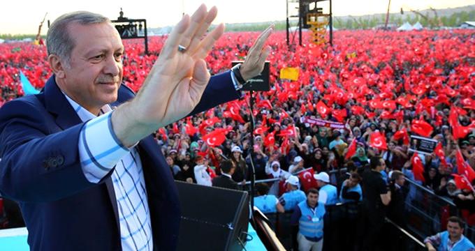 Erdoğan startı kritik ilden verecek, 55 şehir gezecek