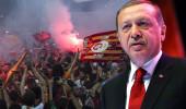 Erdoğan'dan Galatasaray'a tebrik mesajı