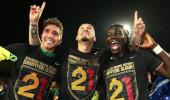 Galatasaray, 21. şampiyonluğa özel tişört bastırdı