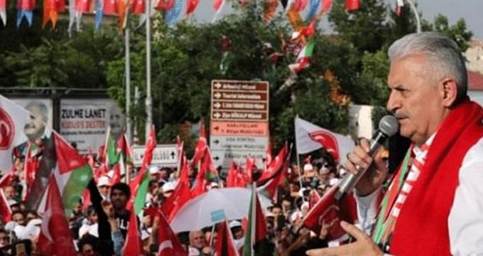 Başbakan Diyarbakır'da meydan okudu: Şeytani şebeke, izin vermeyeceğiz