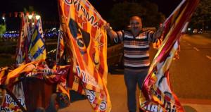 Galatasarayın şampiyonluğuna en çok onlar sevindi