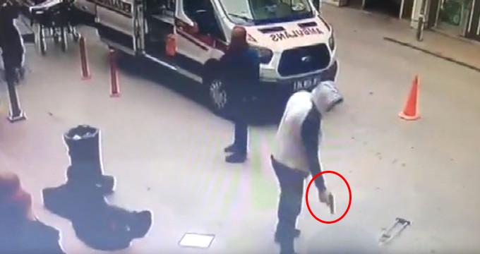 Hastane önünde bekleyen karı-kocayı işte böyle öldürdü!