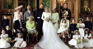 Kraliyet düğününden çok özel pozlar paylaşıldı!