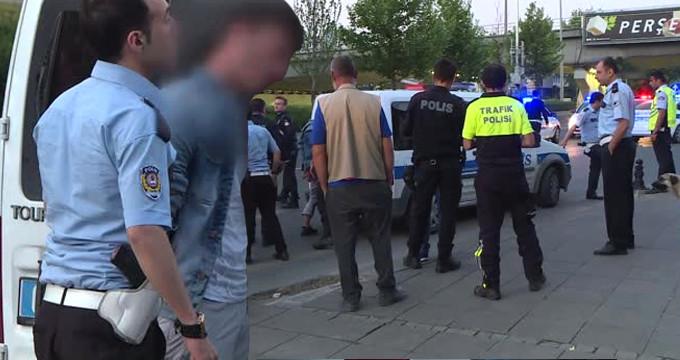 Başkent'te korku dolu anlar! Polis kendisini darp eden 2 kişiyi vurdu
