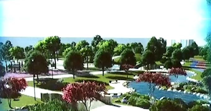 """Erdoğan duyurmuştu! İşte """"millet bahçesi""""nden ilk görüntüler"""