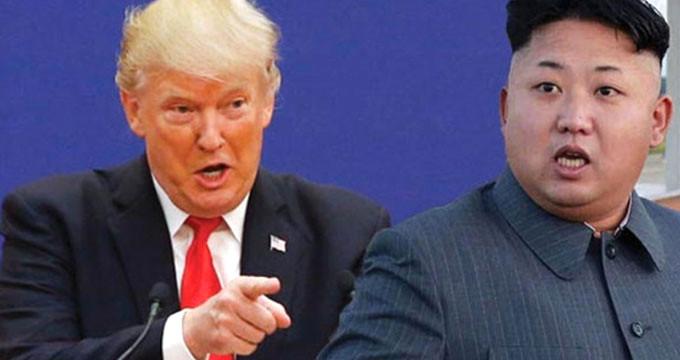 Tarihi zirveden vazgeçen Trump'tan Kuzey Kore'ye uyarı: Ordumuz hazır