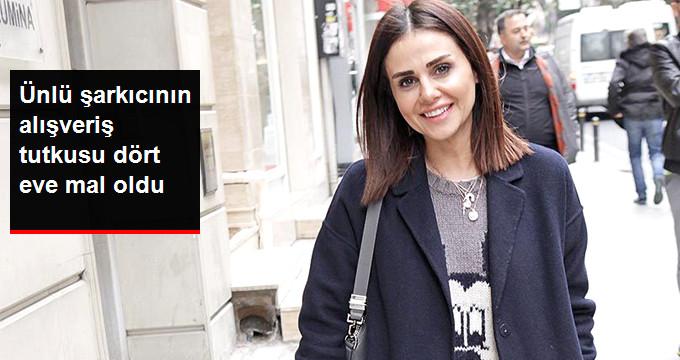 Ünlü şarkıcının alışveriş tutkusu dört eve mal oldu
