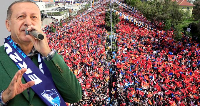 Erdoğan'dan ilk mitinginde müjde: Doğal gaza yüzde 10,25 indirim!