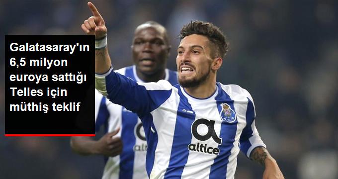 Galatasaray ın 6,5 milyon euroya sattığı Telles için müthiş teklif