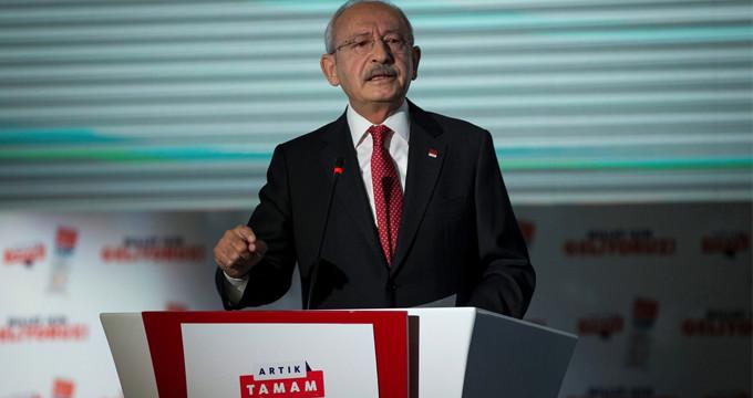 Kılıçdaroğlu kürsüye çıktı, en önemli vaatlerini bir bir sıraladı!