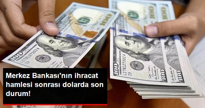 Merkez Bankası'nın İhracat Hamlesi Sonrası Dolar Haftayı Düşüşle Kapattı