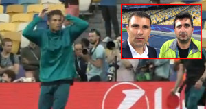 Ronaldo dev final öncesi görevliyi sakatladı