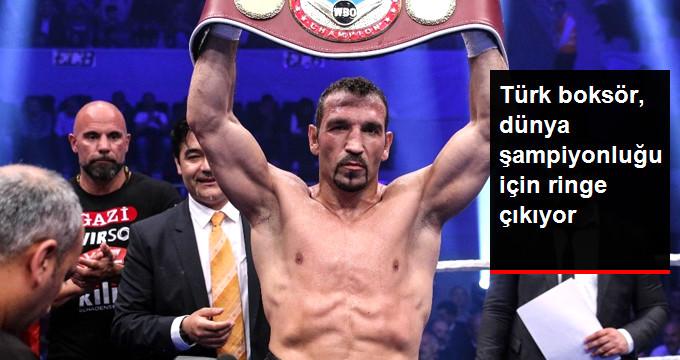 Türk boksör, dünya şampiyonluğu için ringe çıkıyor
