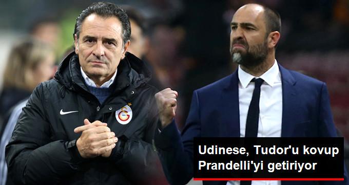 Udinese, Tudor u kovup Prandelli yi getiriyor