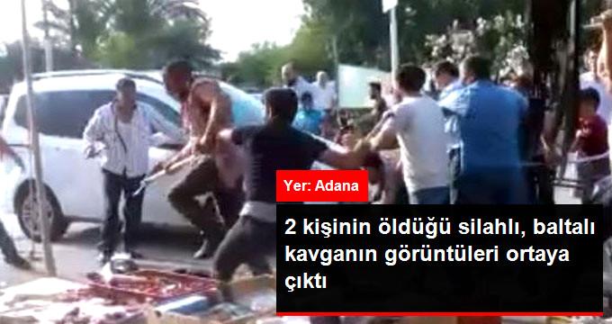 2 kişinin öldüğü silahlı, baltalı kavganın görüntüleri ortaya çıktı