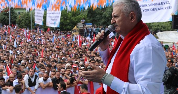 """""""Kanal İstanbul Projesi'ni iptal edeceğim"""" diyen İnce'ye yanıt verdi"""