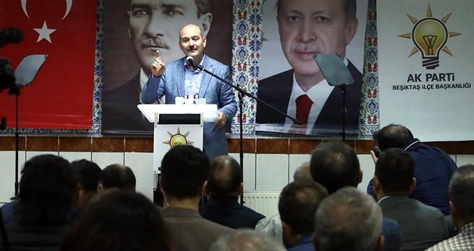 Soylu'dan muhalefete Demirtaş tepkisi: Akşener, İnce, size ne battı!