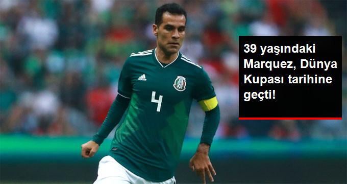 39 yaşındaki Marquez, Dünya Kupası tarihine geçti!