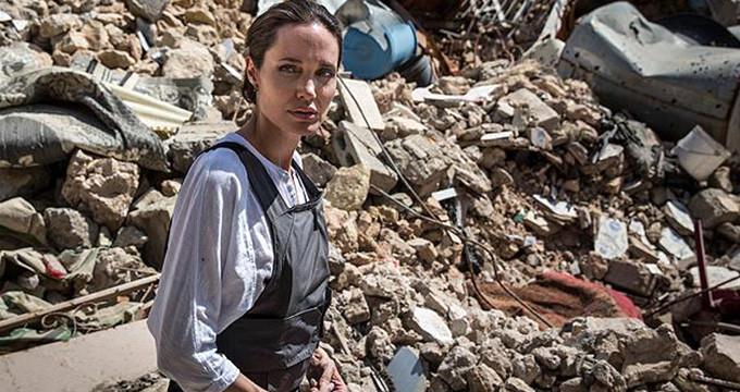 Angelina Jolie, Türkiye sınırında