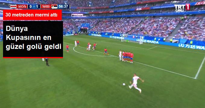 Dünya Kupasının en güzel golü geldi