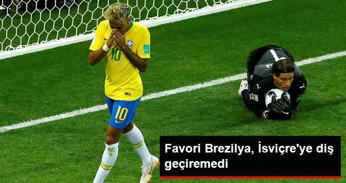 Favori Brezilya, İsviçreye diş geçiremedi